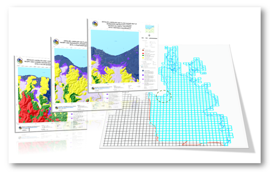 1:10k Caraga Geohazard Map Quad Portal